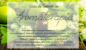 Ciclo talleres aromaterapia
